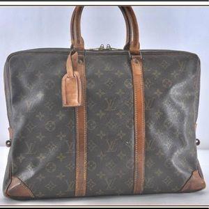 Authentic Louis Vuitton Porte voyage briefcase